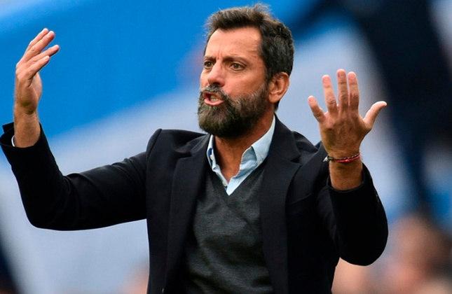 Quique Sánchez Flores – espanhol – 56 anos – último clube que treinou foi o FC Watford, que deixou em dezembro de 2019 – principais feitos como treinador: venceu a Taça Liga de Portugal (Benfica), a Liga Europa e a UEFA Supercup (Atlético de Madrid).