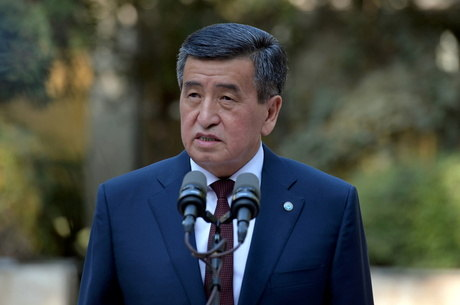 Presidente do Quirguistão renuncia ao cargo