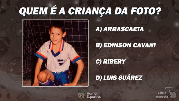 Quiz: Sabe de qual jogador é essa foto de infância?