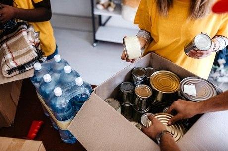 472 cestas foram arrecadadas em uma semana de campanha