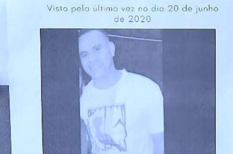 Família divulgou cartaz de PM desaparecido