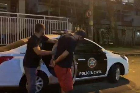 Miliciano foi preso no  Anil, zona oeste do Rio