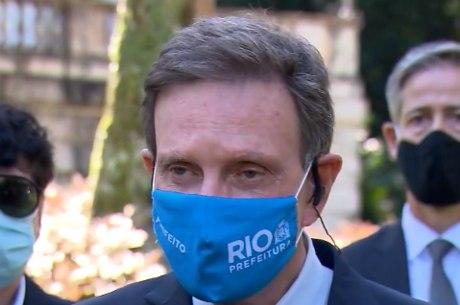 Crivella fez um apelo ao presidente do TRE-RJ