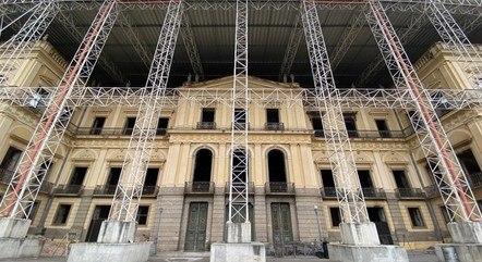 Museu nacional passa por processo de restauração
