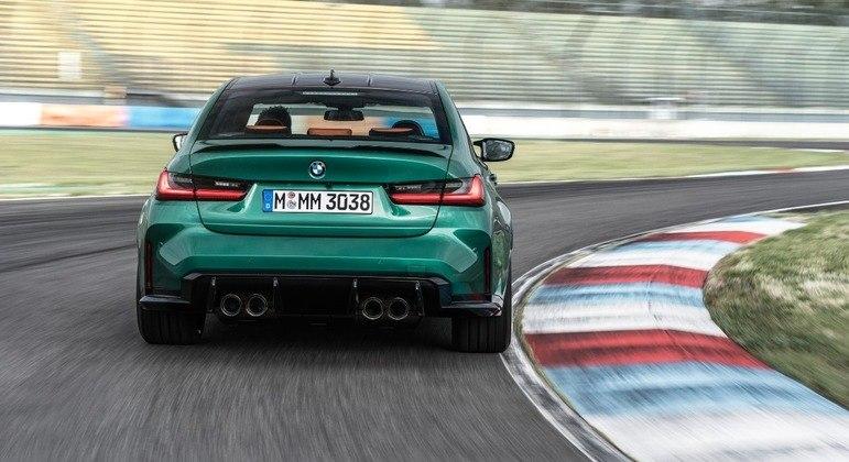 M3 não traz motorização híbrida oferecendo sua fórmula tradiconal de motorização a combustão