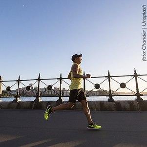 Corrida: melhora a pressão arterial