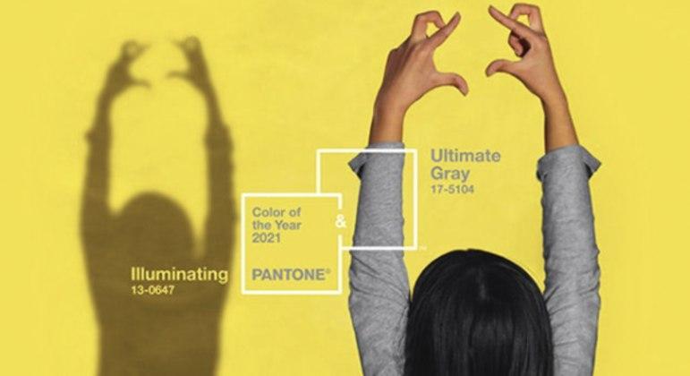 O cinza contrasta na medida certa com a luminosidade do amarelo