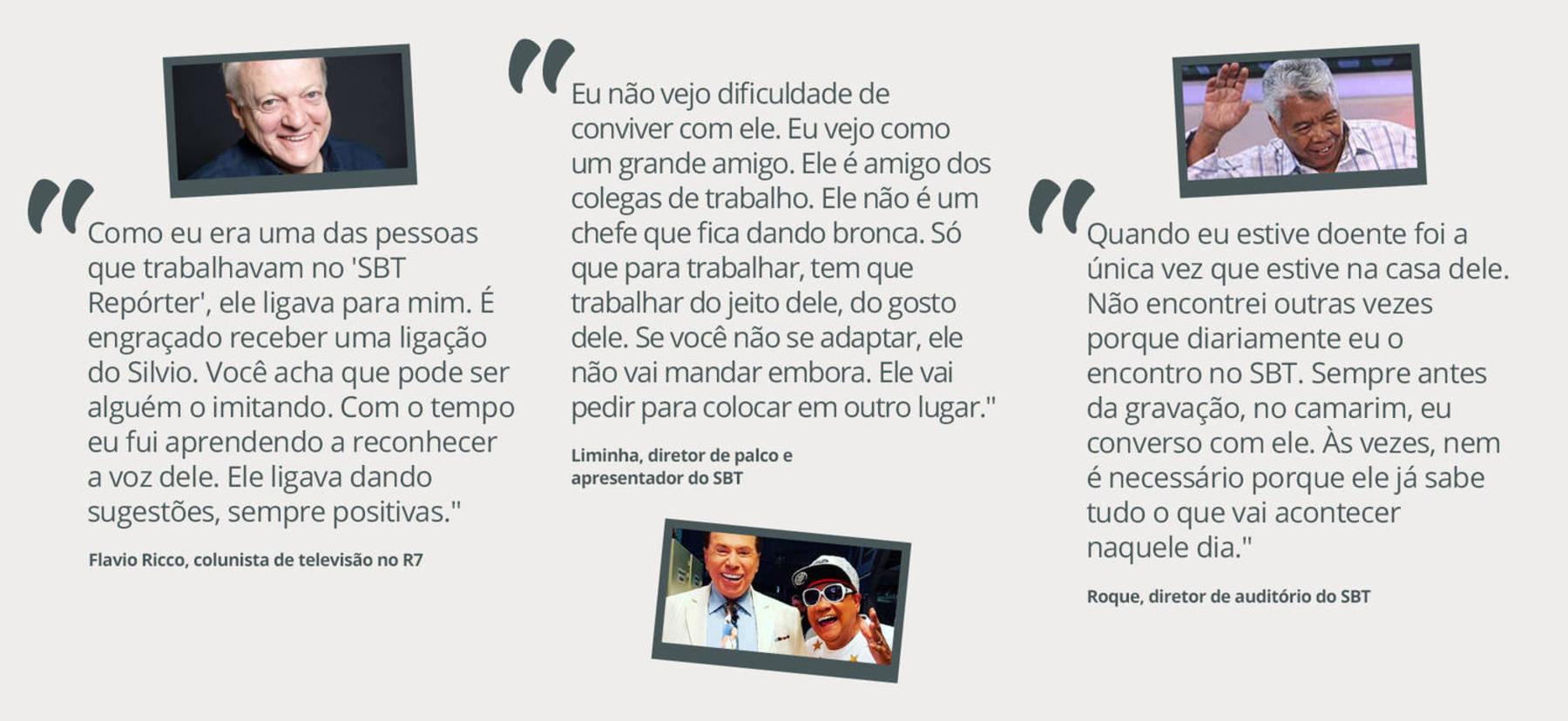 Flávio Ricco, Liminha e Roque falam do dono do Baú (Arte/R7)