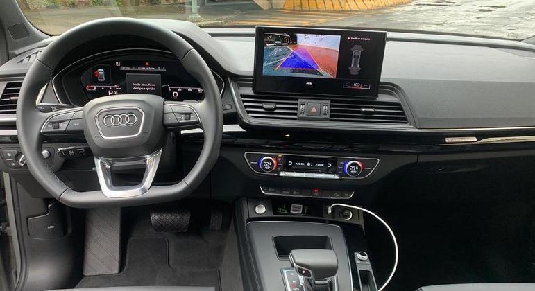 Carro tem multimídia MMI Touch com 10,1 polegadas
