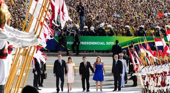 Populares se reuniram na Esplanada e na Praça dos Três Poderes