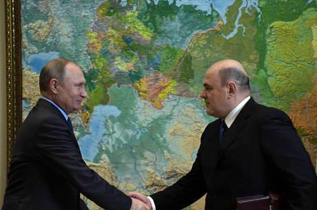 Mishustin é indicado por Putin a cargo de premiê