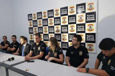 Polícia Civil de Tocantins após operação Poker Face