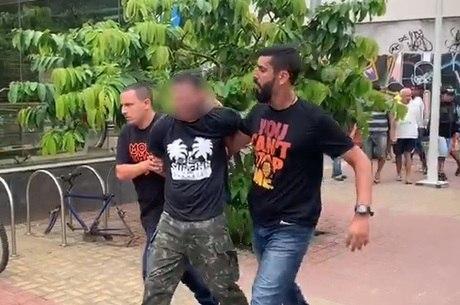 Suspeito foi detido no metrô de São Conrado, zona sul do Rio