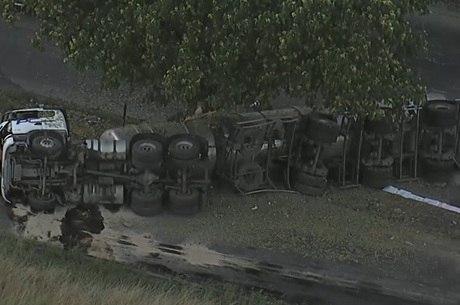 Motorista do caminhão tentava fugir de assaltantes