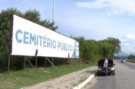 Cemitério próximo a hospital não foi inaugurado