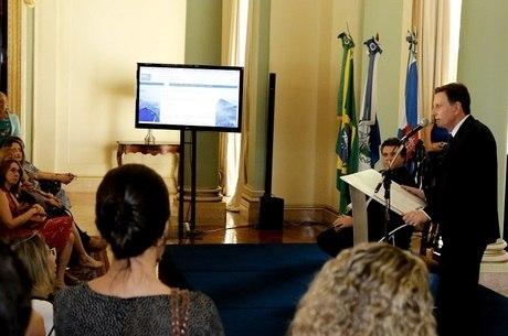 Prefeito do Rio apresentou novo projeto