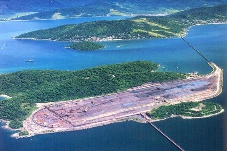 Terminal fica em Ilha Grande na Costa Verde