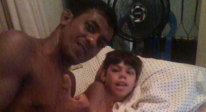 Marcos Viana é pai de Carlos, que tem paralisia cerebral
