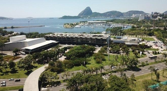Parque do Flamengo é um dos marcos arquitetônicos da cidade