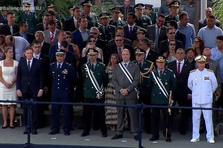 Governador e prefeito do Rio estiveram no evento