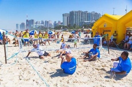Desafio reunirá paratletas e campeãs olímpicas do vôlei