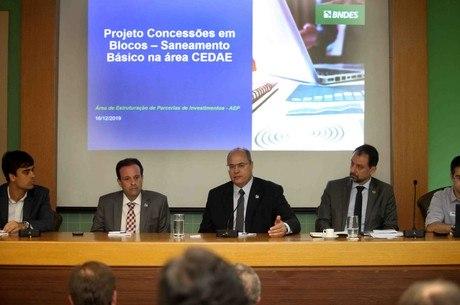Witzel participa de reunião com representante do BNDS