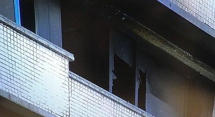 Fogo destruiu apartamento na Barra da Tijuca