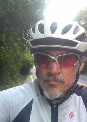 Ciclista morreu no local