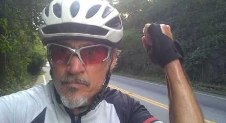 Cláudio era ciclista profissional