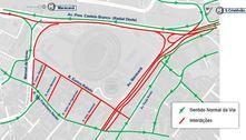 Ruas de acesso ao Maracanã serão fechadas para final da Libertadores