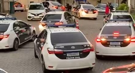 Operação conta com 250 agentes da Polícia Civil