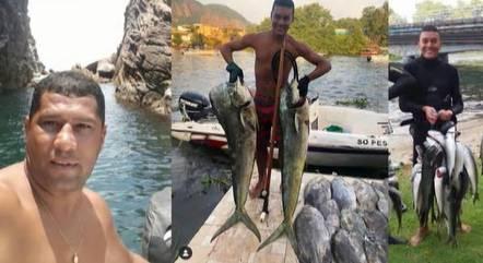Pescadores desapareceram no dia 13 de janeiro