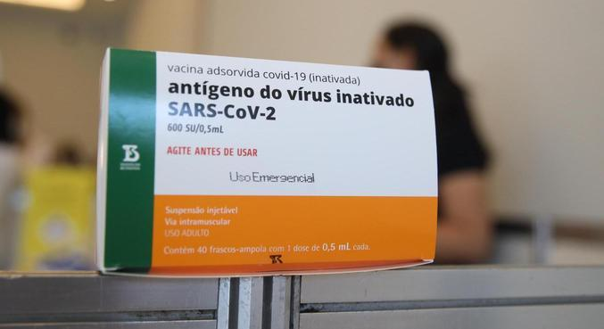 Rio inicia vacinação com CoronaVac nesta segunda-feira (18)