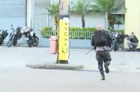 Trocas de tiros assustaram os moradores da região