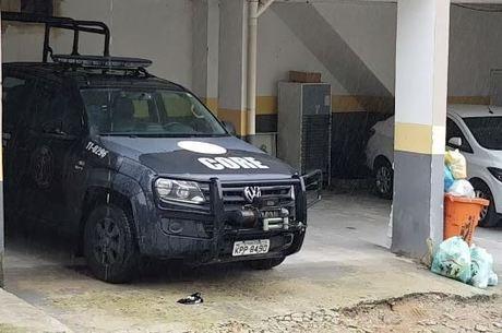 Agentes da Core fizeram buscas em condomínio
