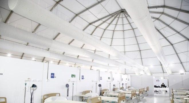 Hospital de campanha do Rio