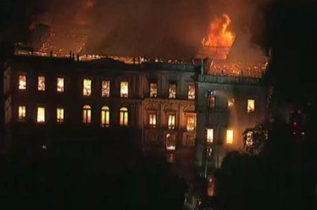 Museu sofreu incêndio em 2018