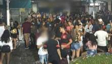 Polícia dispersa blocos clandestinos na Baixada Fluminense