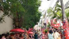 Mesmo com fiscalização, Rio tem aglomerações no início do Carnaval