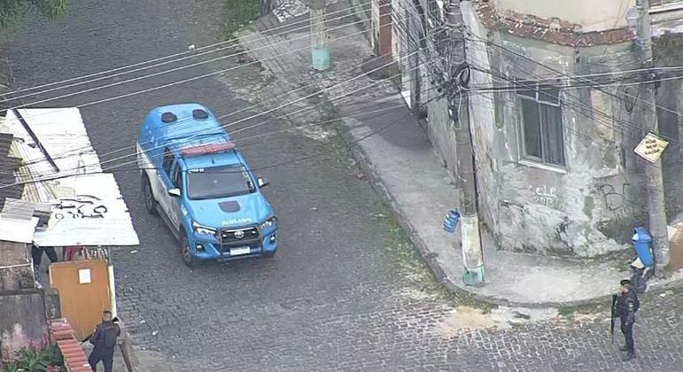 Operação acontece nesta sexta-feira (12) no morro da Providência, na região central do Rio