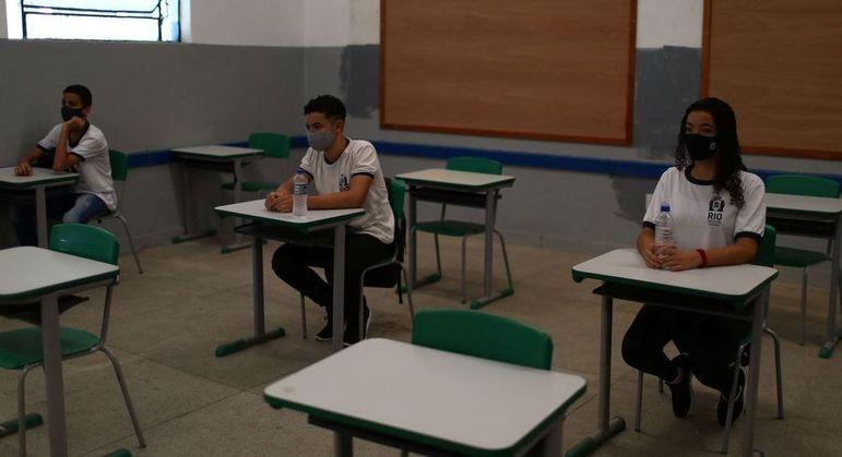 Na capital, 259 unidades escolares têm autorização para o retorno