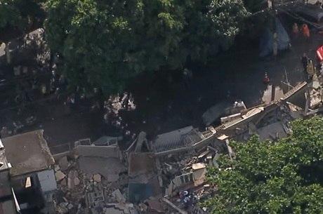 Imóveis desabaram em Jardim América após temporal