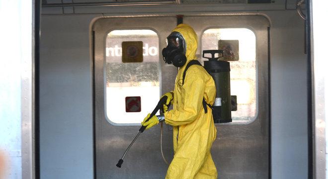 Para segurança dos trabalhadores, CPTM adquiriu mais de 135 mil máscaras
