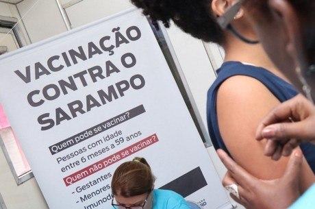A vacinação é a única forma de imunização contra o Sarampo