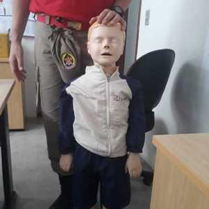 Boneco representará Henry durante a simulação