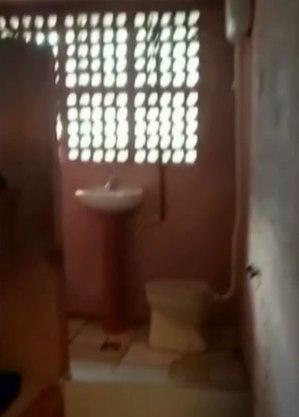 Cela tem pia e sanitário