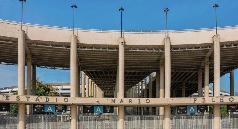 Maracanã, estádio mais emblemático do Brasil
