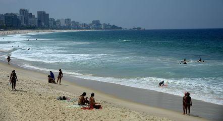 Areia da praia está liberada a partir de segunda (26)