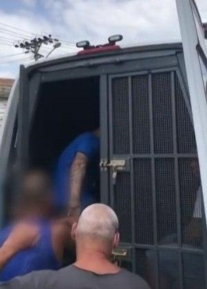 Suspeito foi preso pela polícia