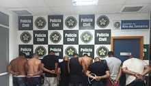 Nove milicianos do Ecko são presos em Bangu, zona oeste do Rio